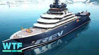 This is the world's largest superyacht