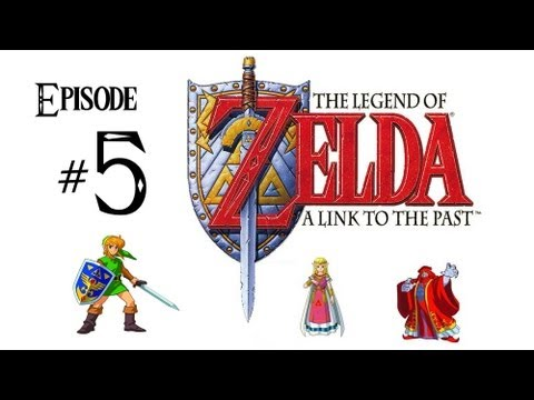 The Legend of Zelda: A Link to the Past - PART 5 w/ Commentary - Waterfall of Wishing