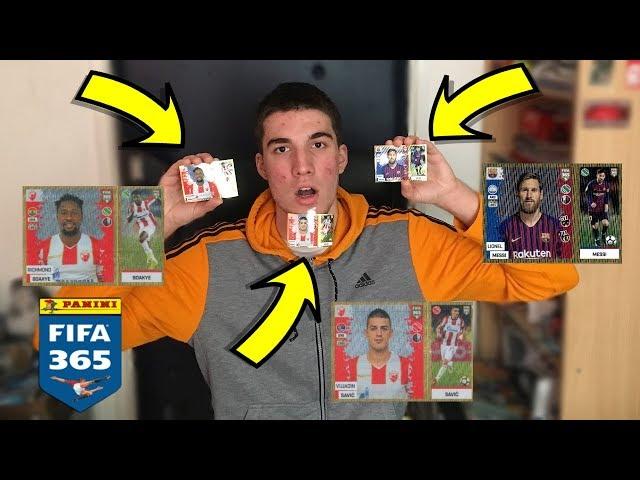BOACI + SAVIC + 5 MESSI !!! - OTVARANJE SLICICA FIFA 365