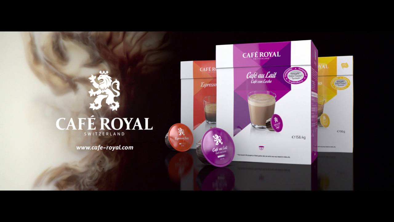 caf royal kapseln f r das nescaf dolce gusto system. Black Bedroom Furniture Sets. Home Design Ideas