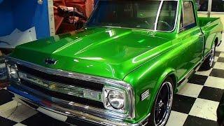 70 Chevy C/10 Street Truck Steve Holcomb Pro Auto Custom Interiors