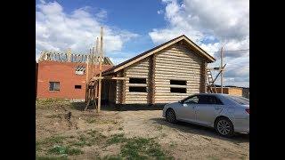 видео Как построить бревенчатый дом