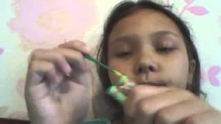 Плетение из резинок урок #1 урок рыбий хвост