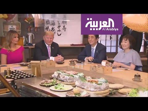 اليابان تغازل ترمب.. سومو وبرغر وغولف  - نشر قبل 2 ساعة