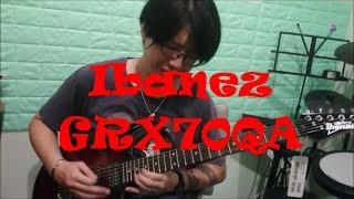 Ibanez GRX70QA, a nice low budget electric guitar!