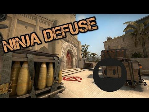 1v5 DMG Ninja Defuse. No Kit. No Smoke. No Problem