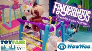NEW FINGERLINGS & More from WOWWEE at Toy Fair 2017