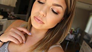 Summer Daytime Glam Makeup Tutorial for Hooded Eyes