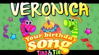 Tina&Tin Happy Birthday VERONICA