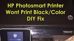 HP 6515 No Black Ink