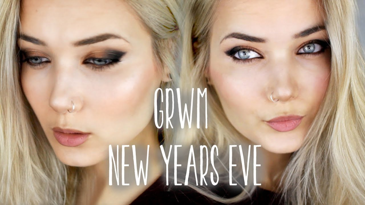 GET READY WITH ME : WEARABLE NEW YEARS EVE MAKEUP - YouTube