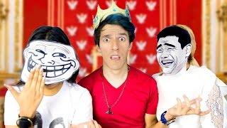 THE KING OF MOMOS (MEME TAG) | POLINESIO CHALLENGE LOS POLINESIOS
