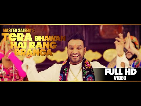 Master Saleem - Tera Bhawan Hai Rang Branga | Latest Punjabi Devotional Song 2018 | Master music