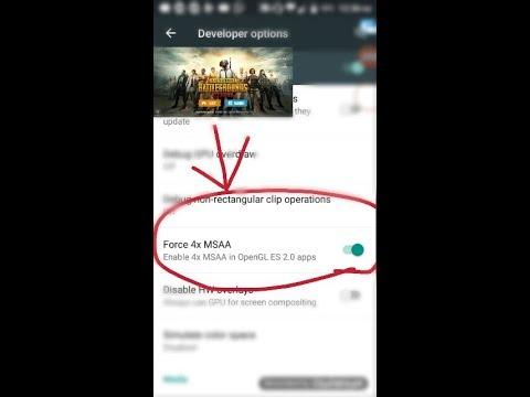 The truth of 4X MSAA in PUBG Mobile II in Hindi