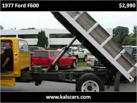 1977 ford f600 used cars crystal lake il youtube. Black Bedroom Furniture Sets. Home Design Ideas