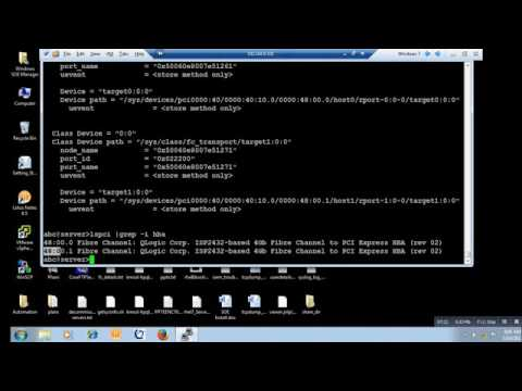 HOW TO SCAN NEW LUNS ON LINUX WITH QLOGIC DESCARGAR CONTROLADOR