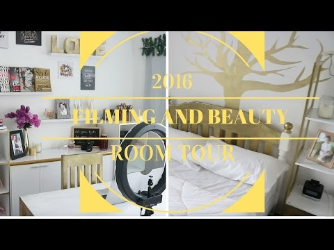 PINAY YOUTUBER FILMING/BEAUTY ROOM TOUR 2016 ( Tagalog ) | oeuvretrends