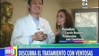Tratamiento con ventosa mejora la circulación y alivia dolores - Mucho Gusto - 23/07/2013 - Mega