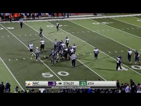 District Football Championship NKC VS Staley