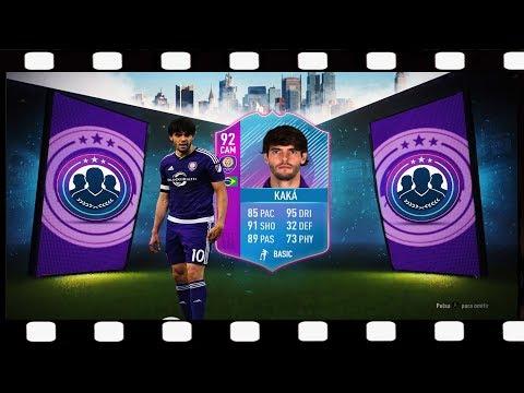 Zagrajmy w FIFA 18 SBC KAKA 92 - Koniec pewnej ery - Prawdziwa ikona 💥