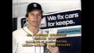 1986 Ford Dealers: Darrell Evans Detroit Tigers