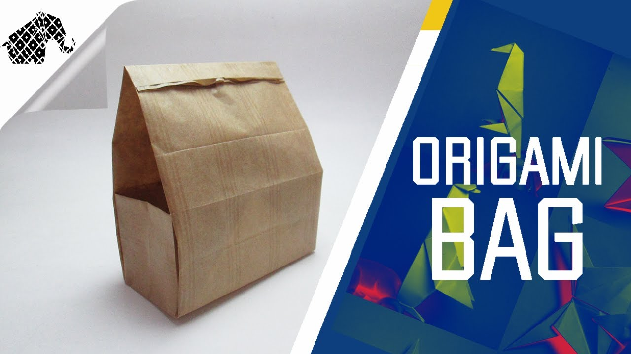 origami how to make an origami gift bag youtube