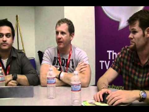 San Diego Comic-Con 2011 - Post Prime panel roundtable 2