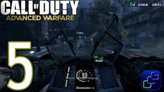 CALL OF DUTY: Advanced Warfare Walkthrough - Part 5 - Campaign Mission 5: Aftermath