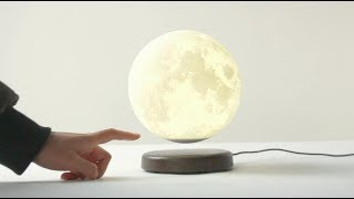Zeegine LEVILUNA Magnetic Levilation 3D Printing Moon Lamp