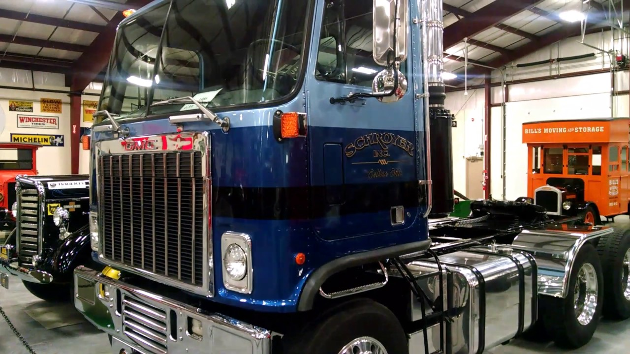 1986 Gmc Astro Cabover Day Cab Youtube