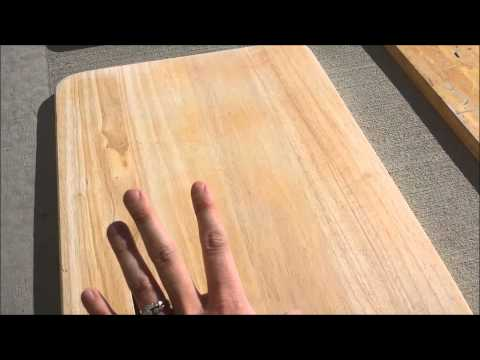 How to Restore a Tray Table Set