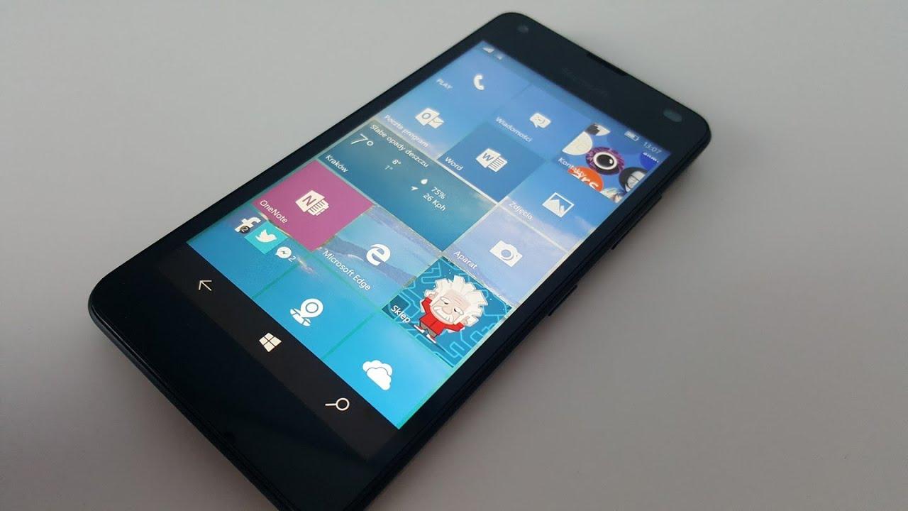 Microsoft Lumia 550 - opinia, test Tabletowo pl