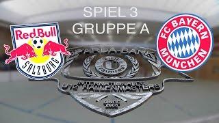Spiel 03: Red Bull Salzburg - FC Bayern München 1:1 / U12 Hallenmasters TuS Traunreut 2016