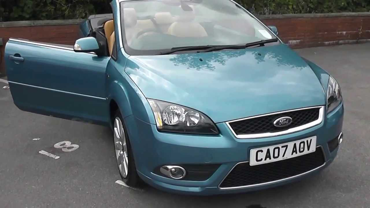 ca07aov ford focus cc convertible in blue at wessex. Black Bedroom Furniture Sets. Home Design Ideas