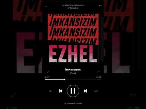 Ezhel | İmkansızım - Stüdyo versiyon Full