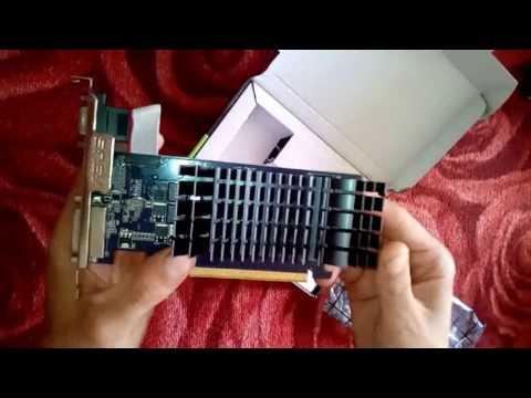 Asus PCI-Ex GeForce 210 SILENT LP 1024MB DDR3 (64bit) (589/1200) (DVI, VGA, HDMI) (EN210 SILENT/DI/1GD3/V2(LP))
