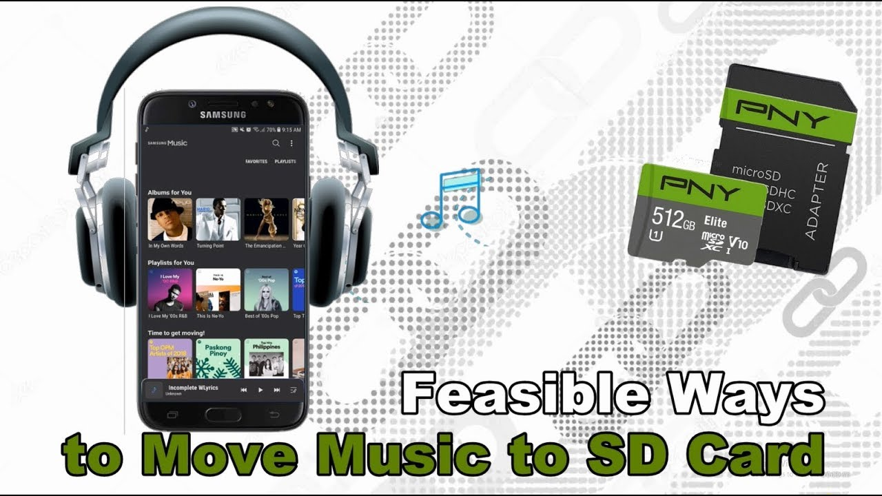 Best Ways to Move Music to SD Card