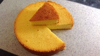 Sponge Cake without Oven || Basic Plain & Soft Sponge cake by (HUMA IN THE KITCHEN)