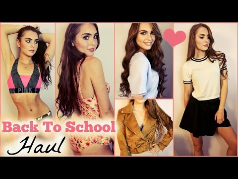 Try On HAUL For Back To School Clothes 2015!