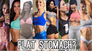 HOW TO GET A FLAT TUMMY