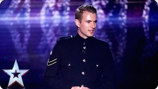 Military magic man Richard Jones we salute you! | Grand Final | Britain's Got Talent 2016