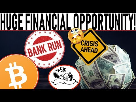 HUGE FINANCIAL OPPORTUNITY!  BITCOIN ADOPTION BLAST OFF!  BANK RUN ALERT!  TOP 15 CRYPTO PROJECTS!