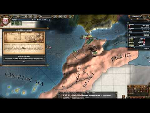 Europa Universalis 4 - Morocco 2 - Let's Fail At Multiplayer!
