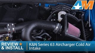 2015 2017 ford f 150 ecoboost 3 5l k series 63 aircharger cold air intake review install