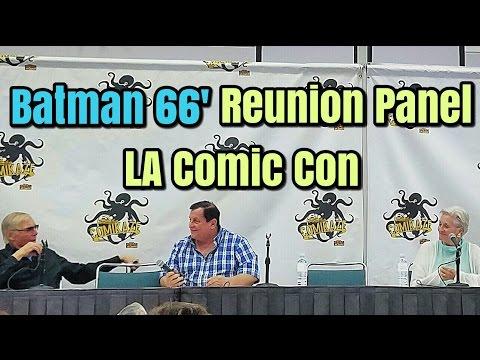 Batman 66' Reunion Panel with Adam West - LA Comic Con 2016
