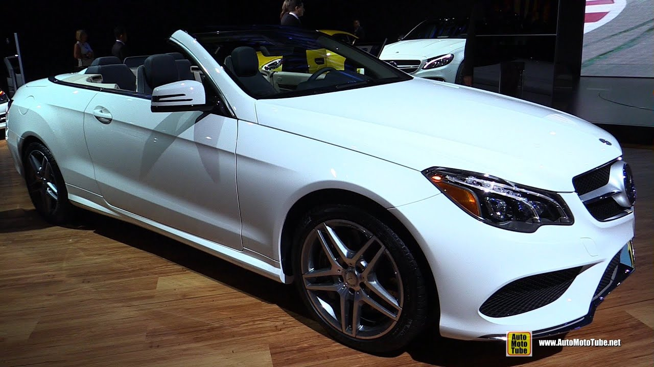 2015 Mercedes Benz E Class E550 Cabriolet Exterior And
