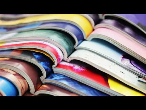 Soft Magazine Page Turning - No Talking | White Noise for Sleep, Studying, Relaxation