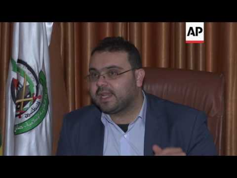 Hamas spokesman on Israel settlements law