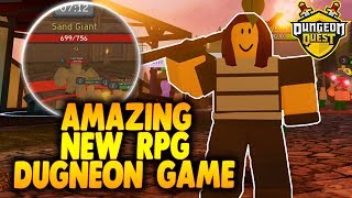 SQUAD DUNGEON RAIDING! | Crazy Fun New Dungeon RPG Game in Roblox | Dungeon Quest in Roblox