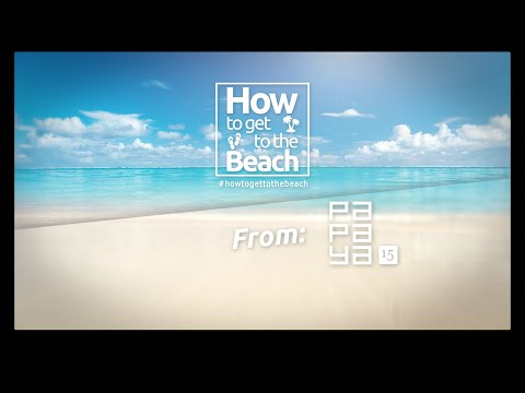 "How to get to the beach from ""Papaya 15"" in Playa del Carmen – www.TopMexicoRealEstate.com"